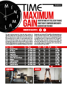 BESTFIT Magazine Issue 4 Gym Workout