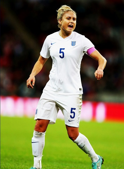 Steph Houghton, England football, women's league.