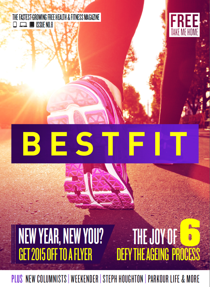 Best fit issue 9, fitness magazine cover.