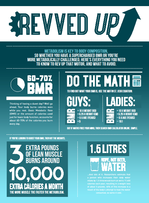 Revved up infographic