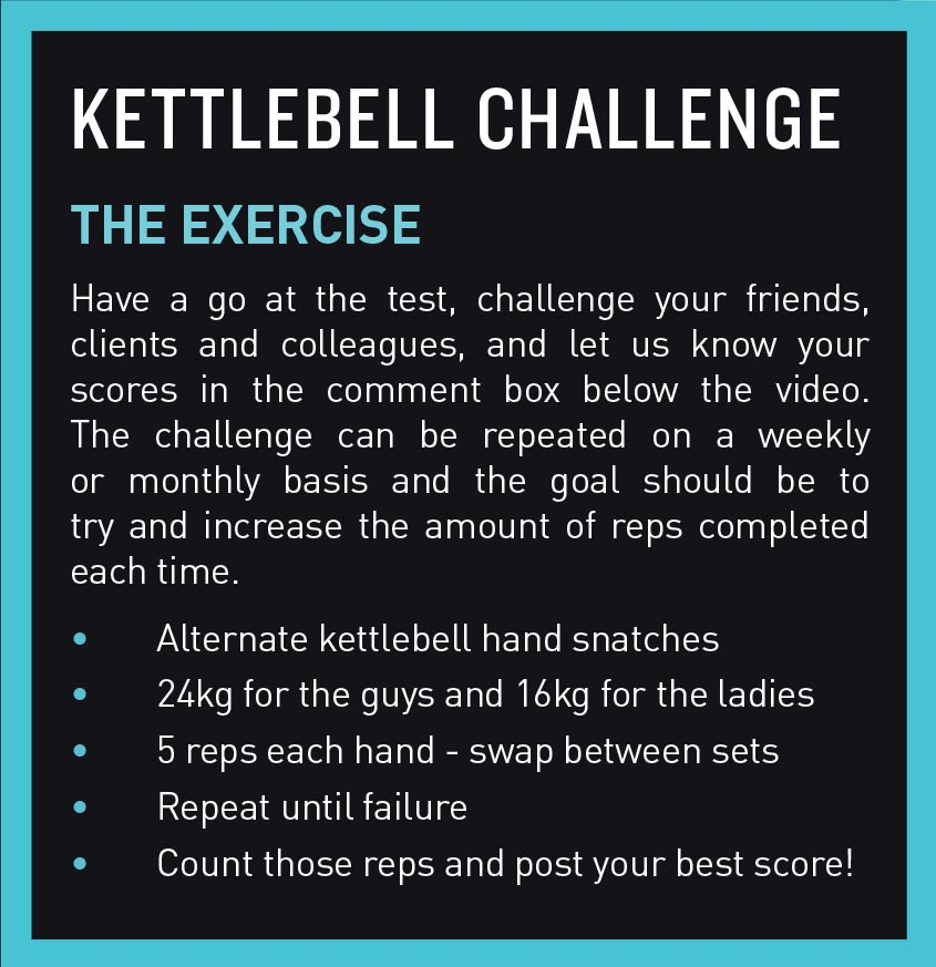 Bestfit challange issue kettlebell competition