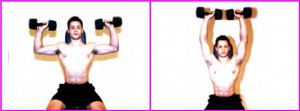 BESTFIT Issue 10 workout, Seated shoulder press