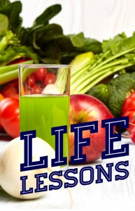 Issue 12 Bestfit Life Lessons cover photo, showcasing a range of healthy fruit and vegetables