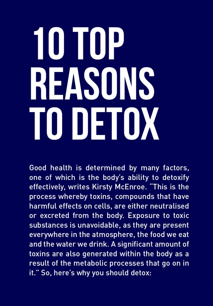 Bestfit Issue 12 Life Lessons  top 10 reasons to detox