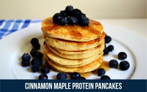 Bestfit Issue 12 Cinnamon Maple Protein Pancakes