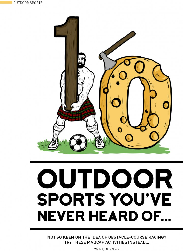 Outdoor sports, bestfit issue 12
