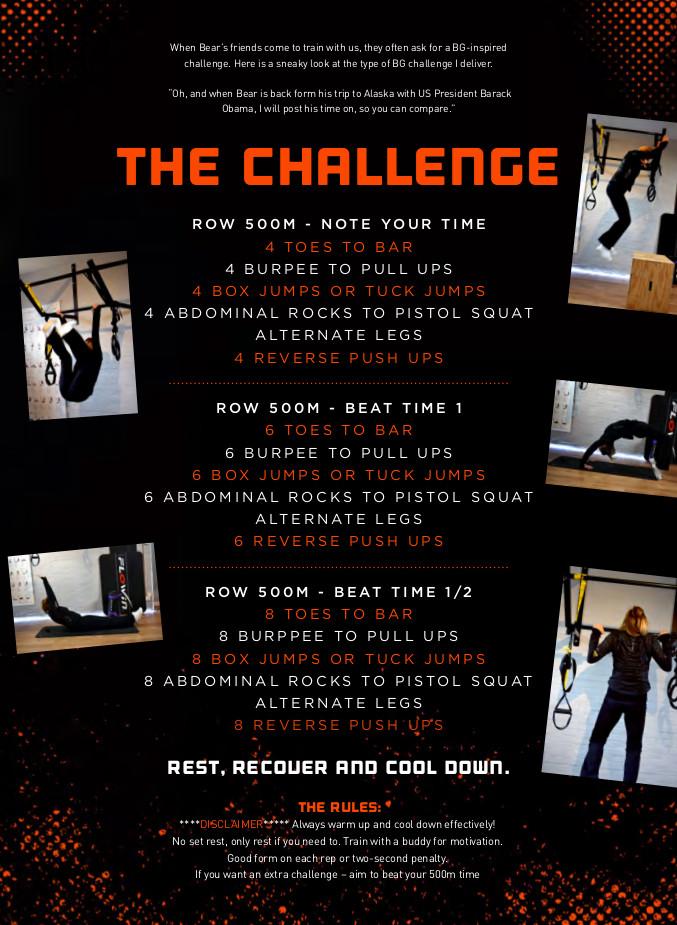 BEAR CHALLENGE 2