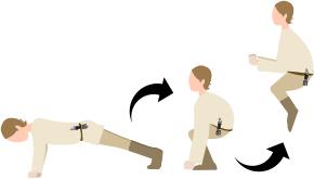 Jedi-burpees