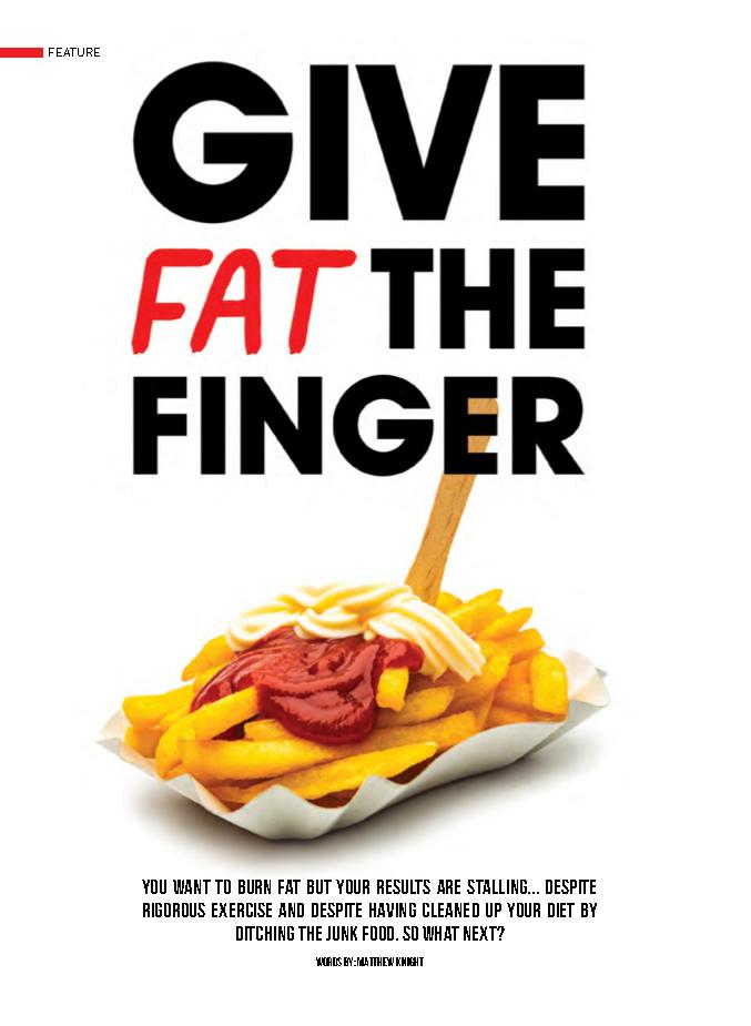 FAT FINGER cover