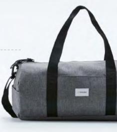 Farah Dorell Grey Marl Holdall Bag