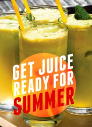 Get juice ready for summer
