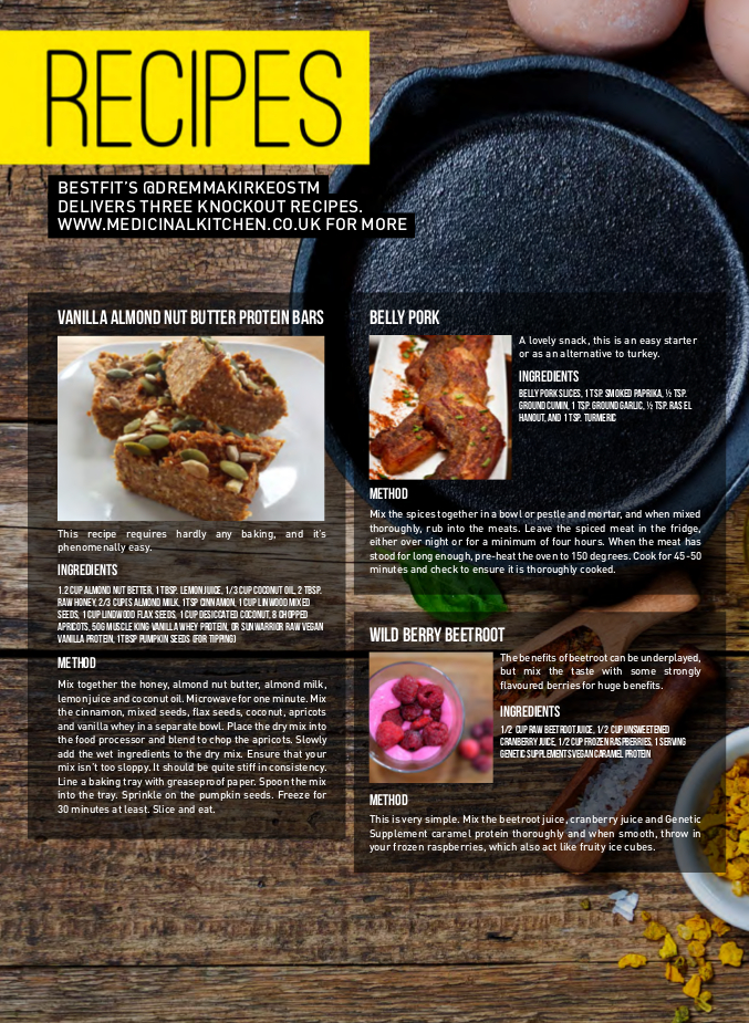 RECIPES ISS 20