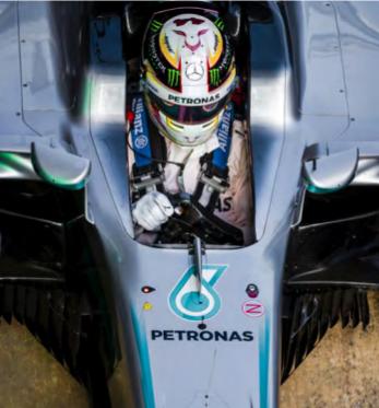 Hamilton F1 footer image