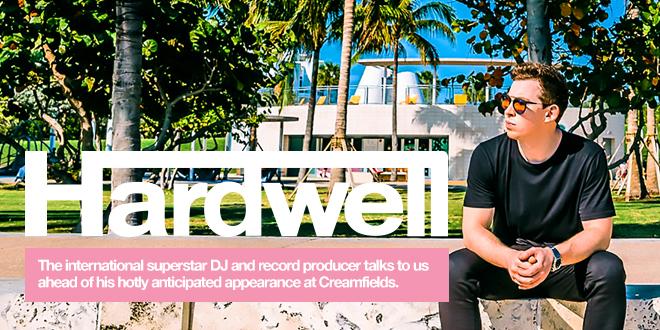hardwell creamfields bestfit magazine revealled