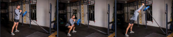 Jammer Front Squat To Double Hand Press 8
