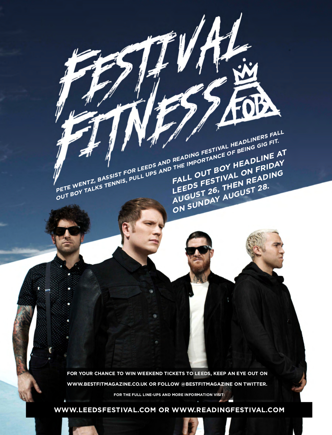 Festival Fitness header
