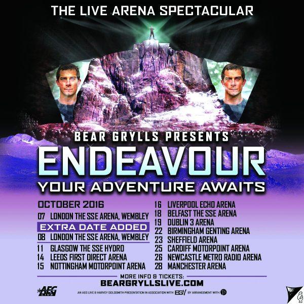 Endeavour Tour