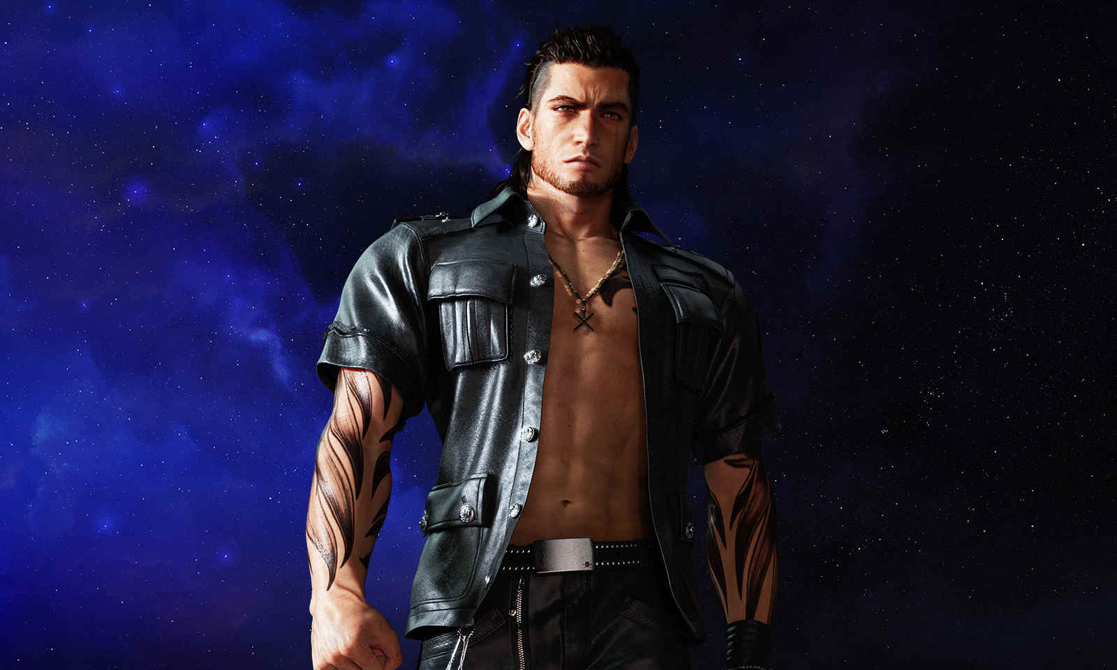 Final Fantasy XV Gladiolus Workout