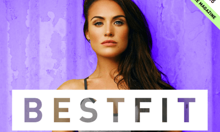 bestfit health fitness magazine cover, Kendal O'Reilly