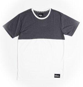 Blac. Contrast Charcoal T-Shirt