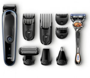 Braun's MGK 3080, grooming, beard trimming