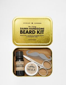 Beard Grooming Kit, moustache wax, grooming