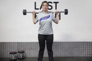 barbell squat 2 10-week transformation