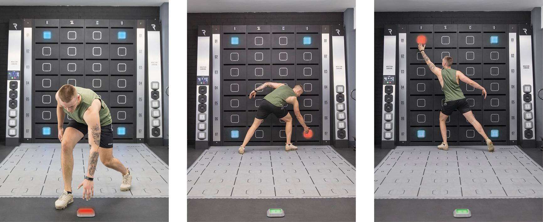reaxing workout light drills