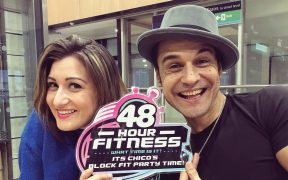 Chico's Block Fit Party 48 Hour Fitness to Prestatyn Sands in January 2020