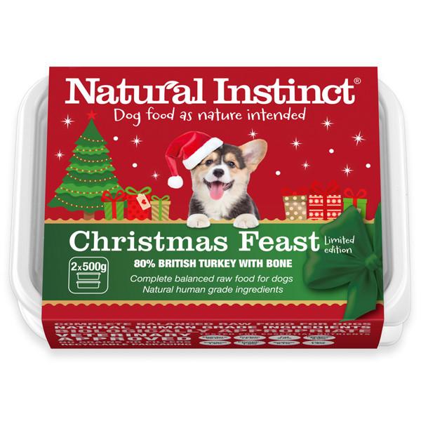 Natural Instinct Christmas Dinner for dogs