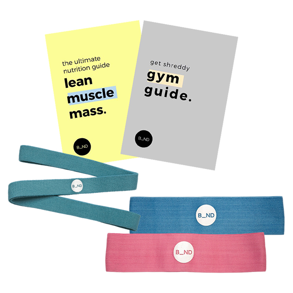 B_AND RESISTANCE BANDS BUNDLE GRACE BEVERLEY VALENTINE'S DAY GIFT IDEAS