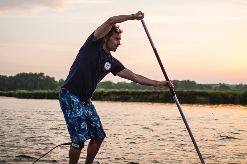 BESTFIT paddleboarding fitness water sports
