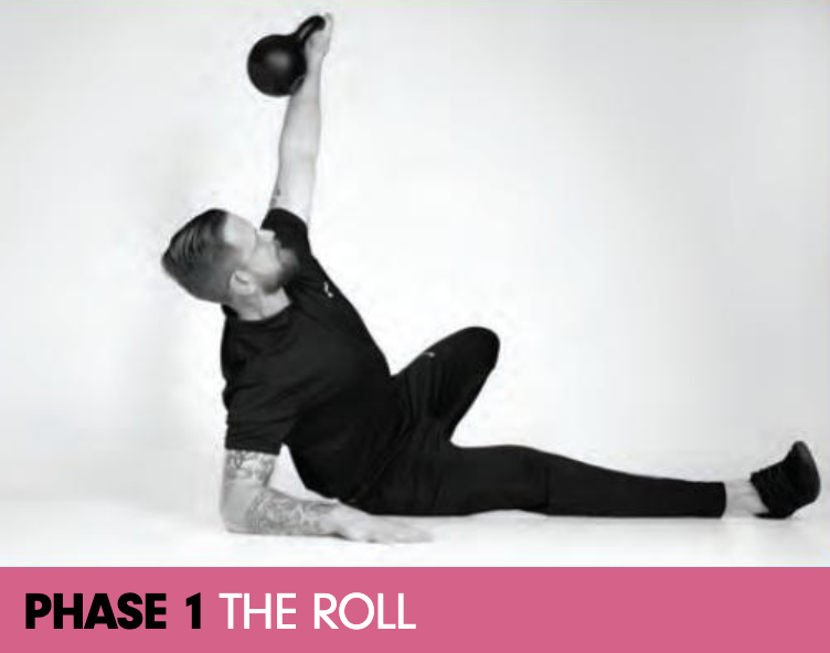 the turkish get-up kettlebell workout