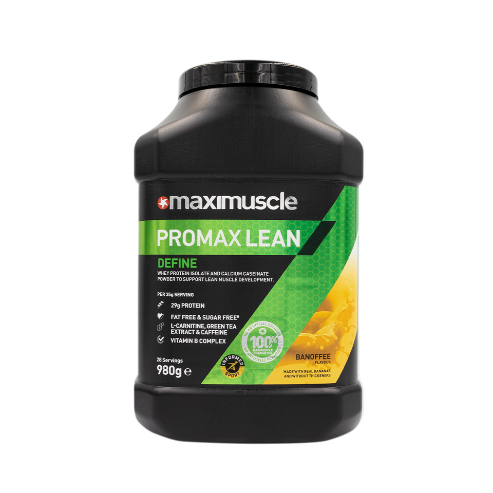 Maximuscle Promax Lean protein supplement for lean muscle definition